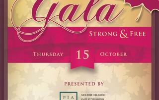 70th Gala Programme
